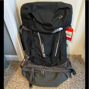 The North Face Terra 50 Backpack - Black